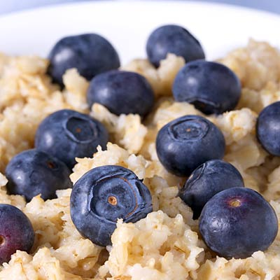 oatmeal-blueberries