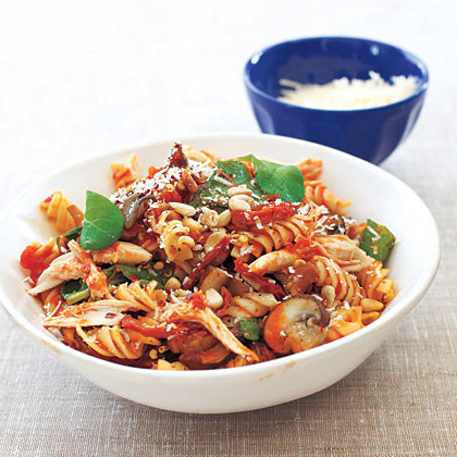 Fusilli Michelangelo with Roasted Chicken