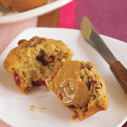 Oatmeal-Cranberry Muffins