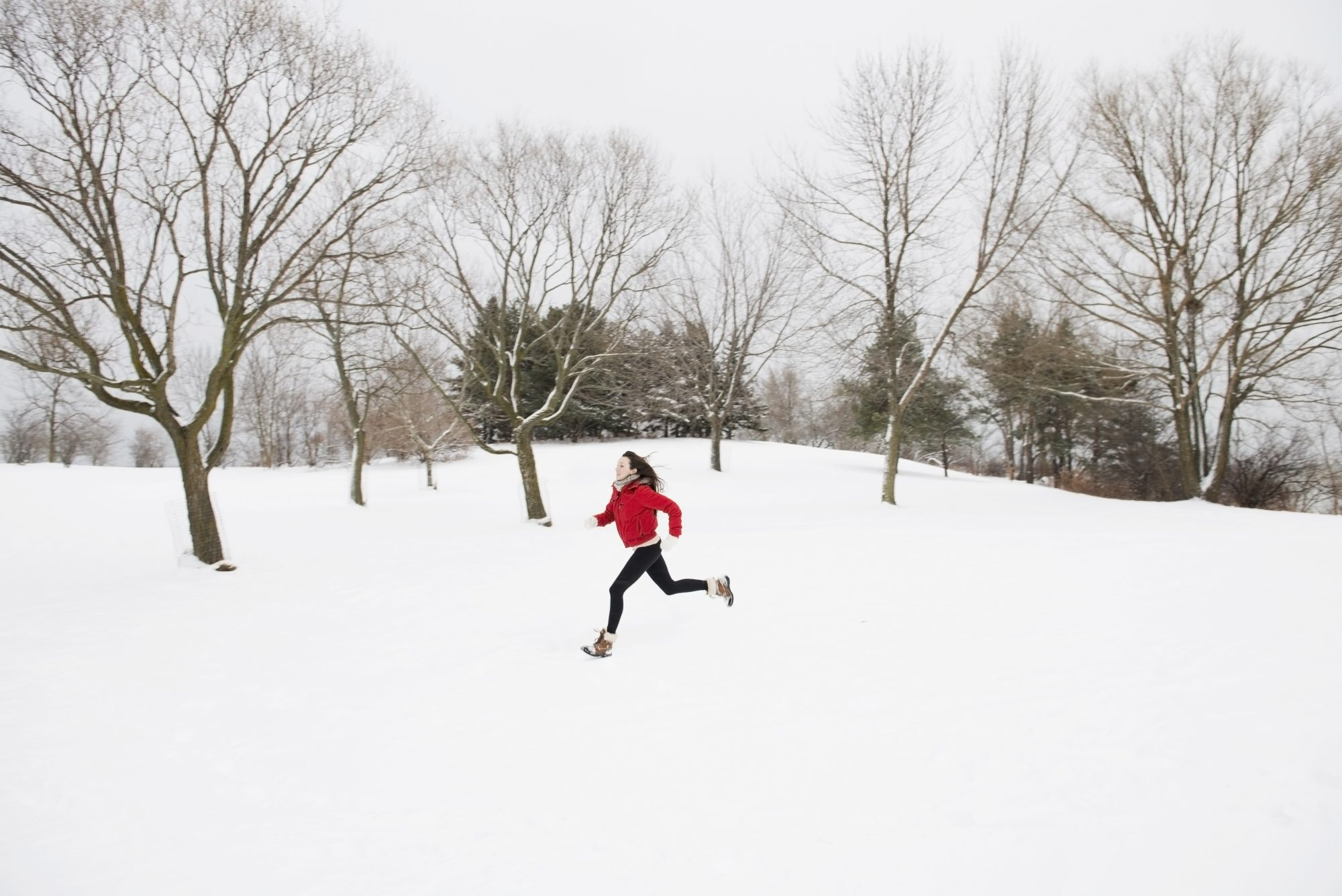 run in winter