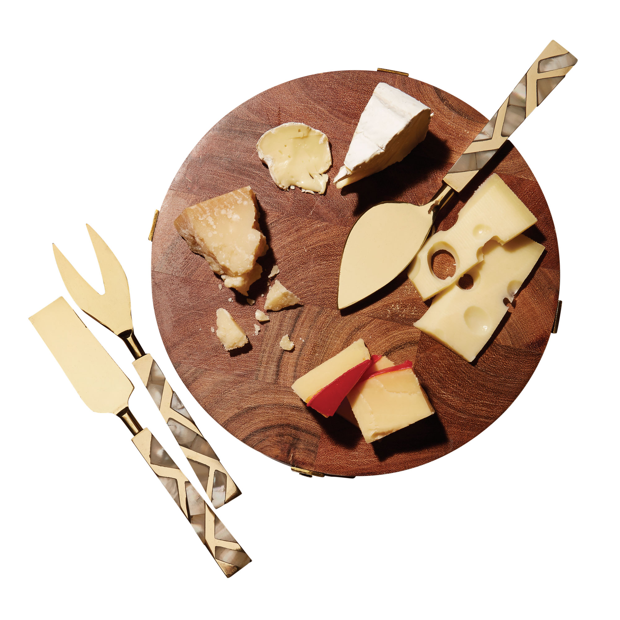 Nate Berkus Cheese Board and Knife Set