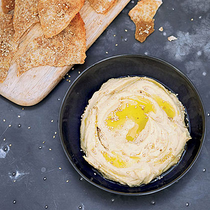 Caramelized Garlic Hummus