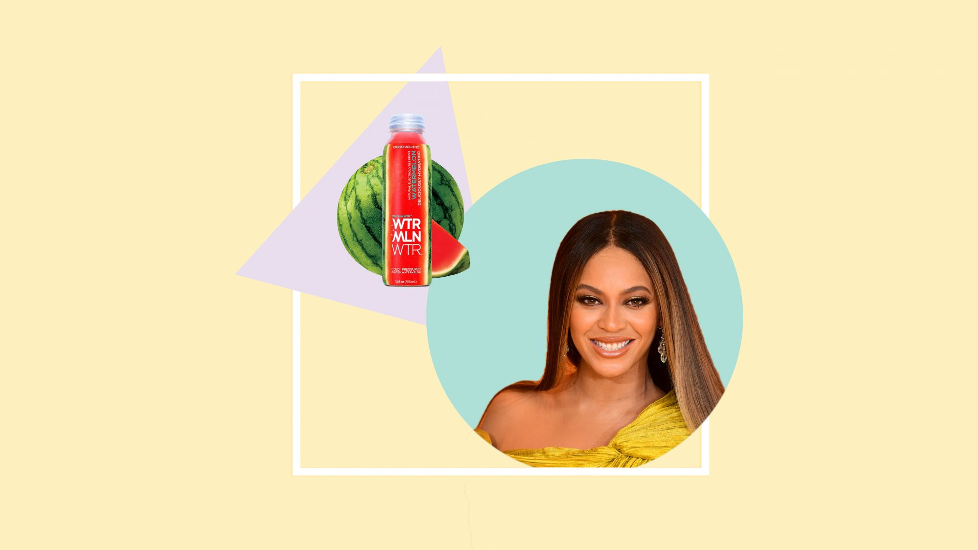 beyonce-wtrmln-wtr watermelon-water woman health wellbeing hydration watermelon water food diet beyonce