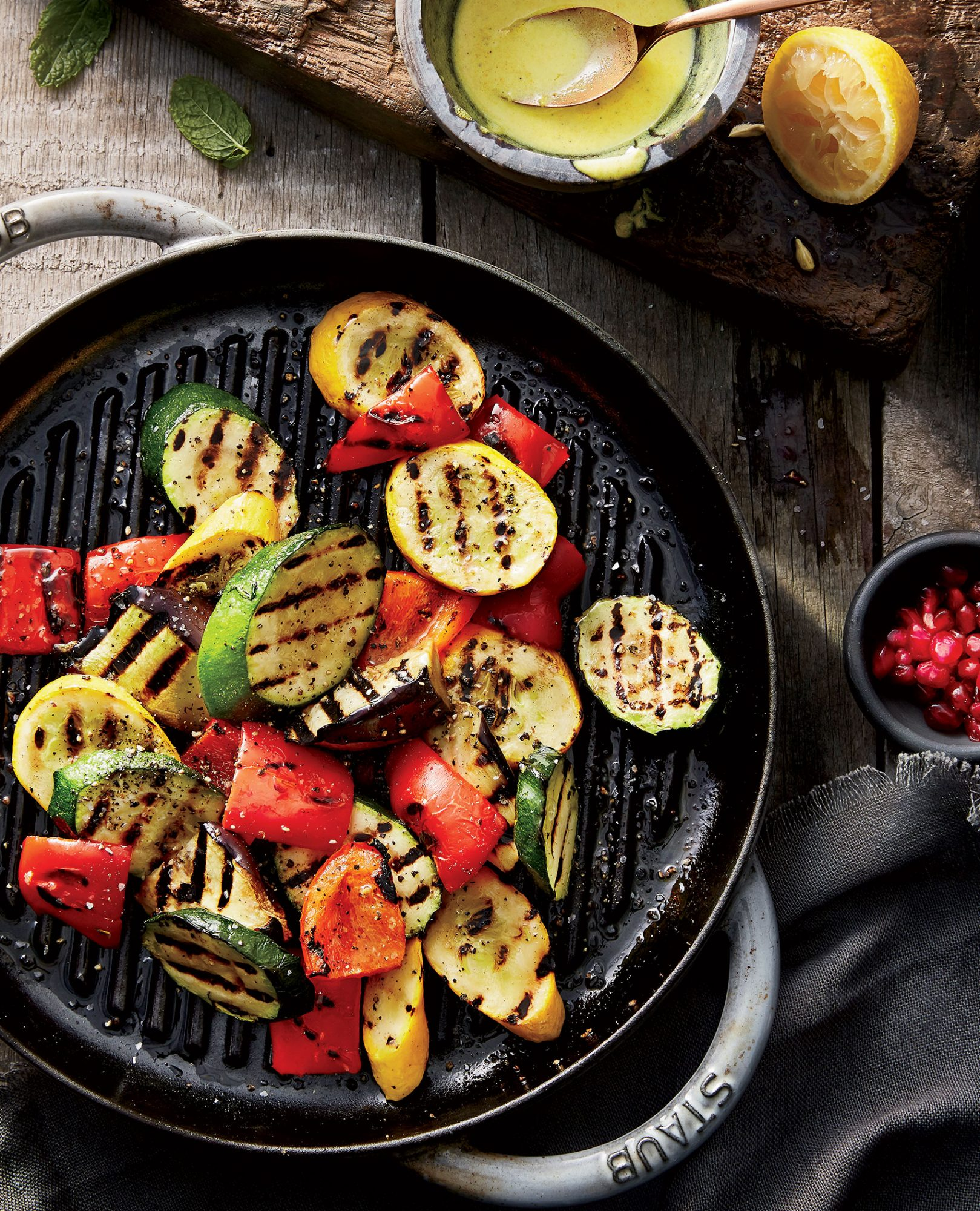 grilled-vegetables-creamy-turmeric-sauce