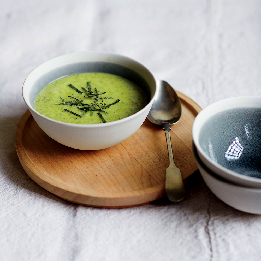 Creamy Zucchini and Sage Soup