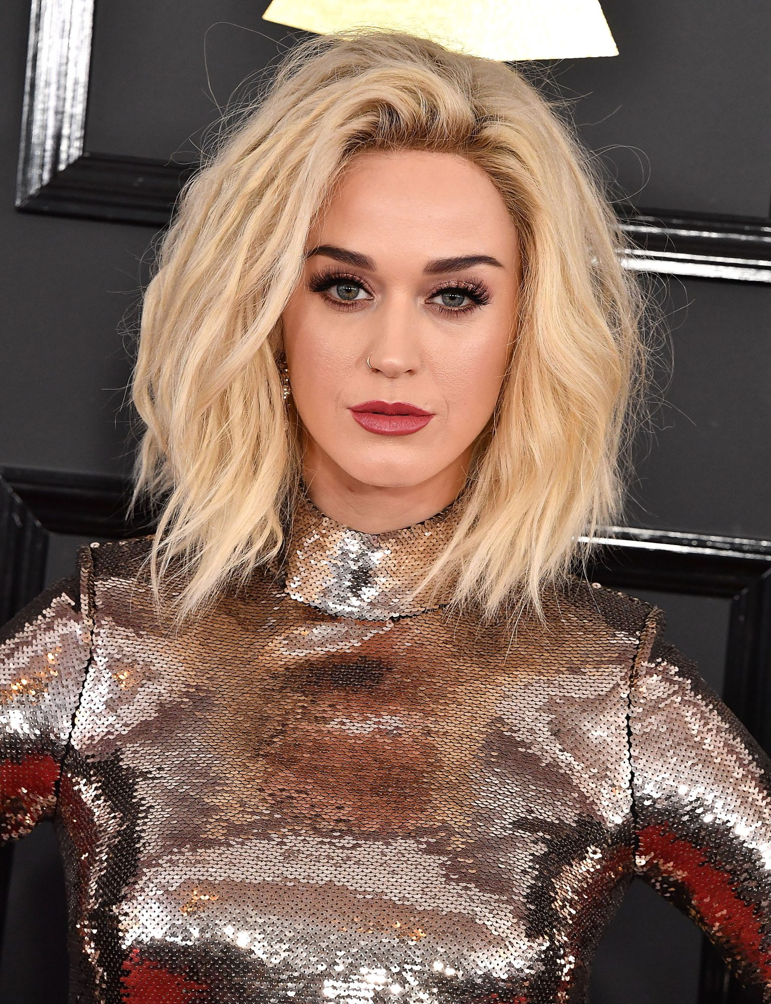 Katy Perry Debuted Her New COVERGIRL Line at the Grammys