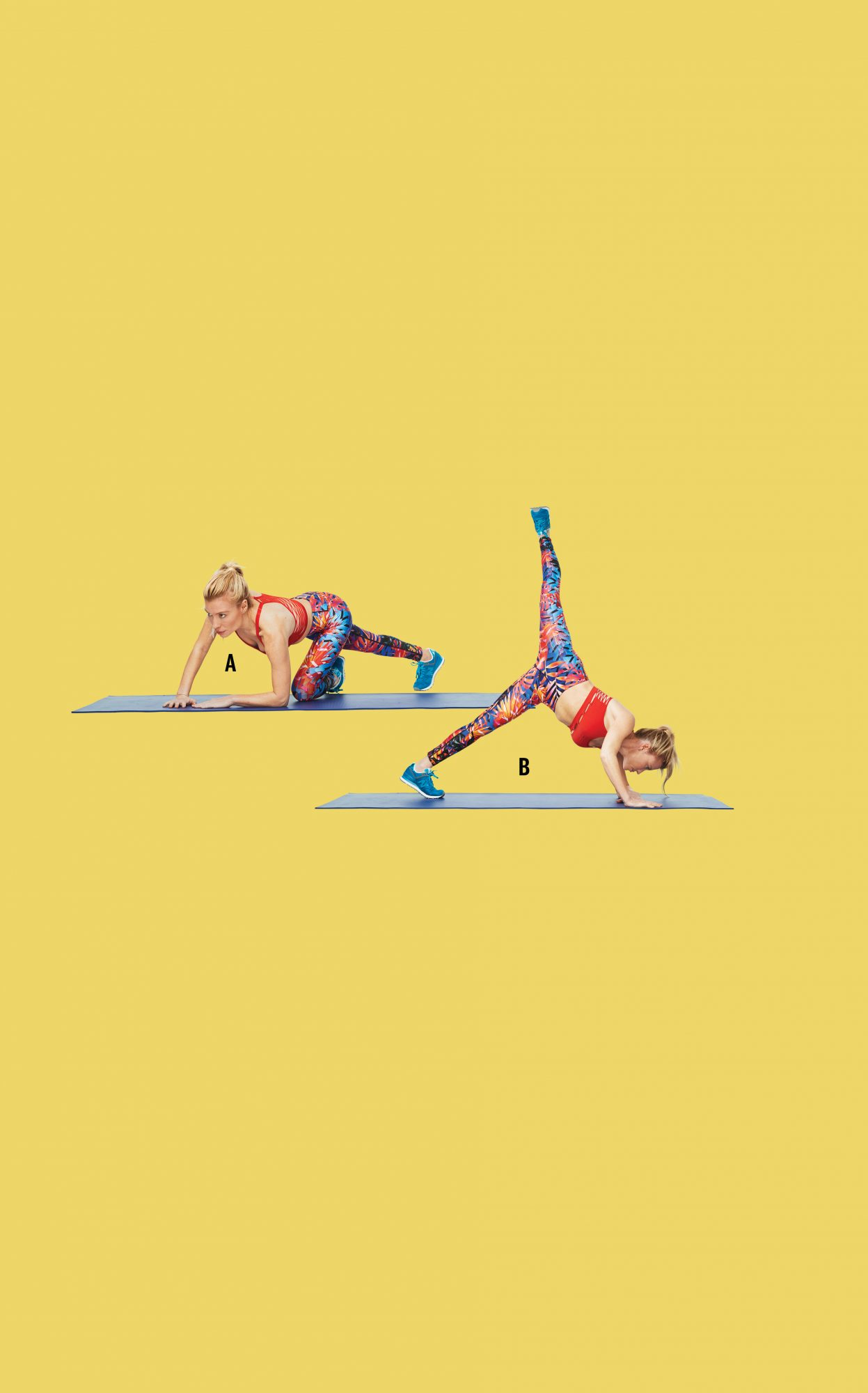flexed coupe swing to plank arabesque tracy anderson gut check
