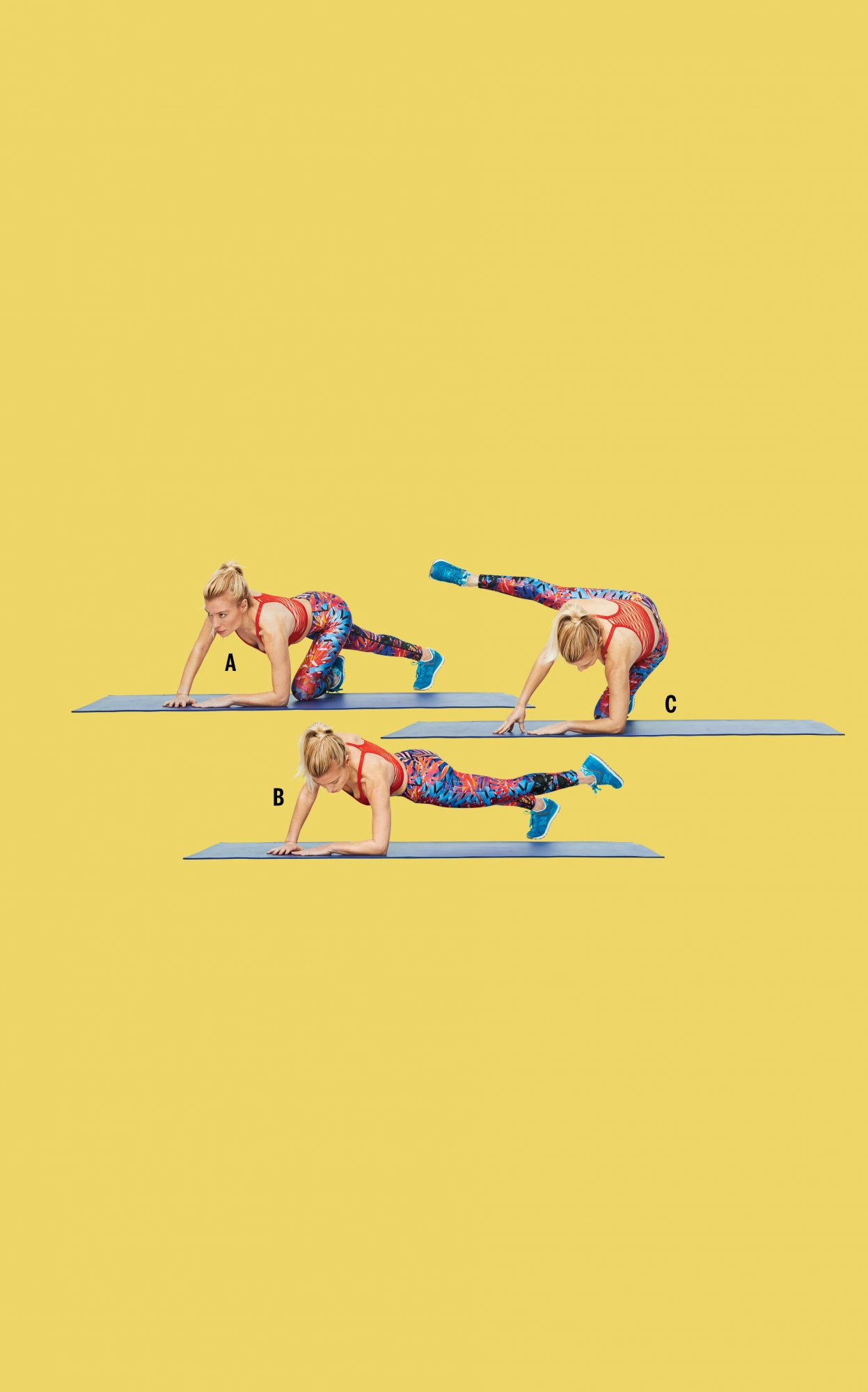 open diagonal to plank extend side tracy anderson gut check