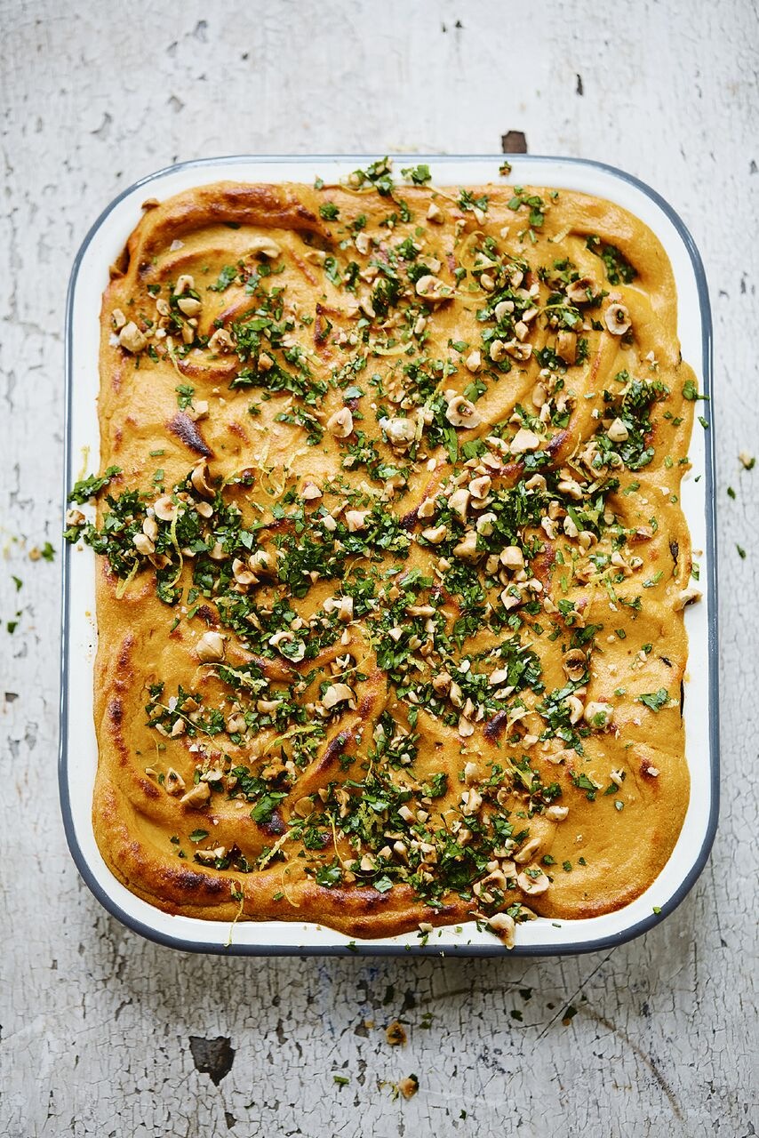 Deliciously Ella Natural Feasts Tomato and Eggplant Bake recipe