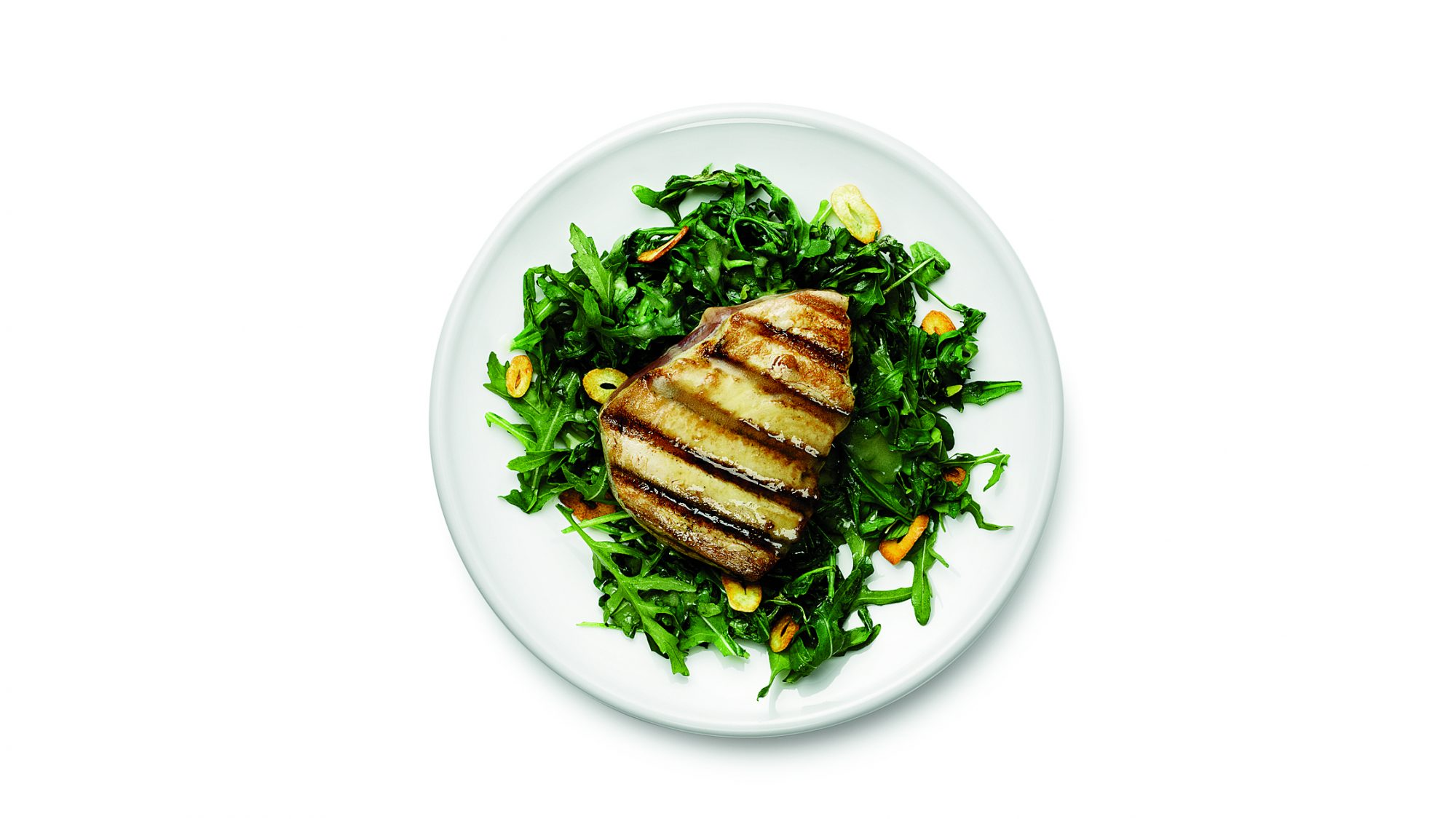 grilled-tuna-arugula