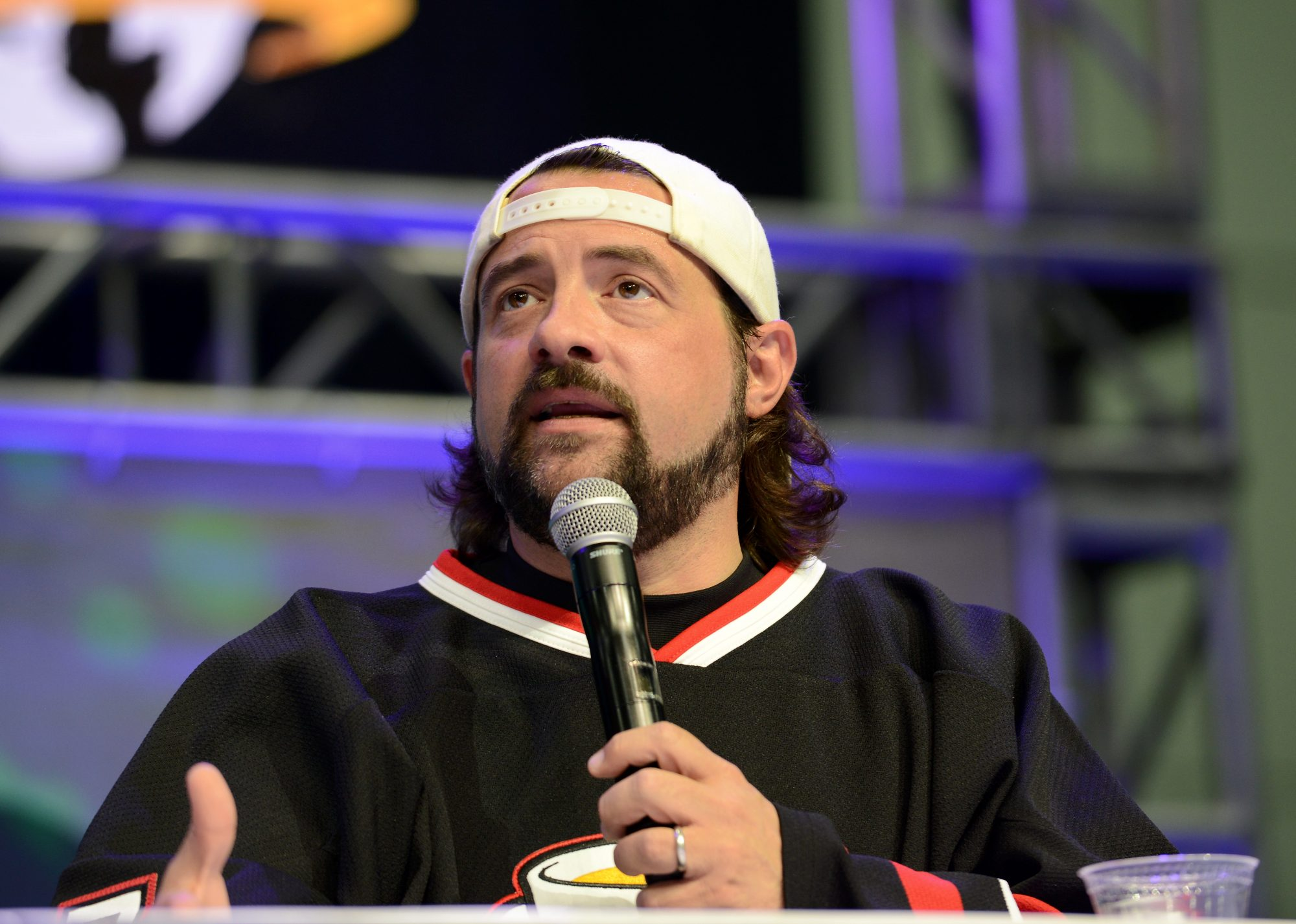Kevin Smith at Stan Lee's Los Angeles Comic Con 2017