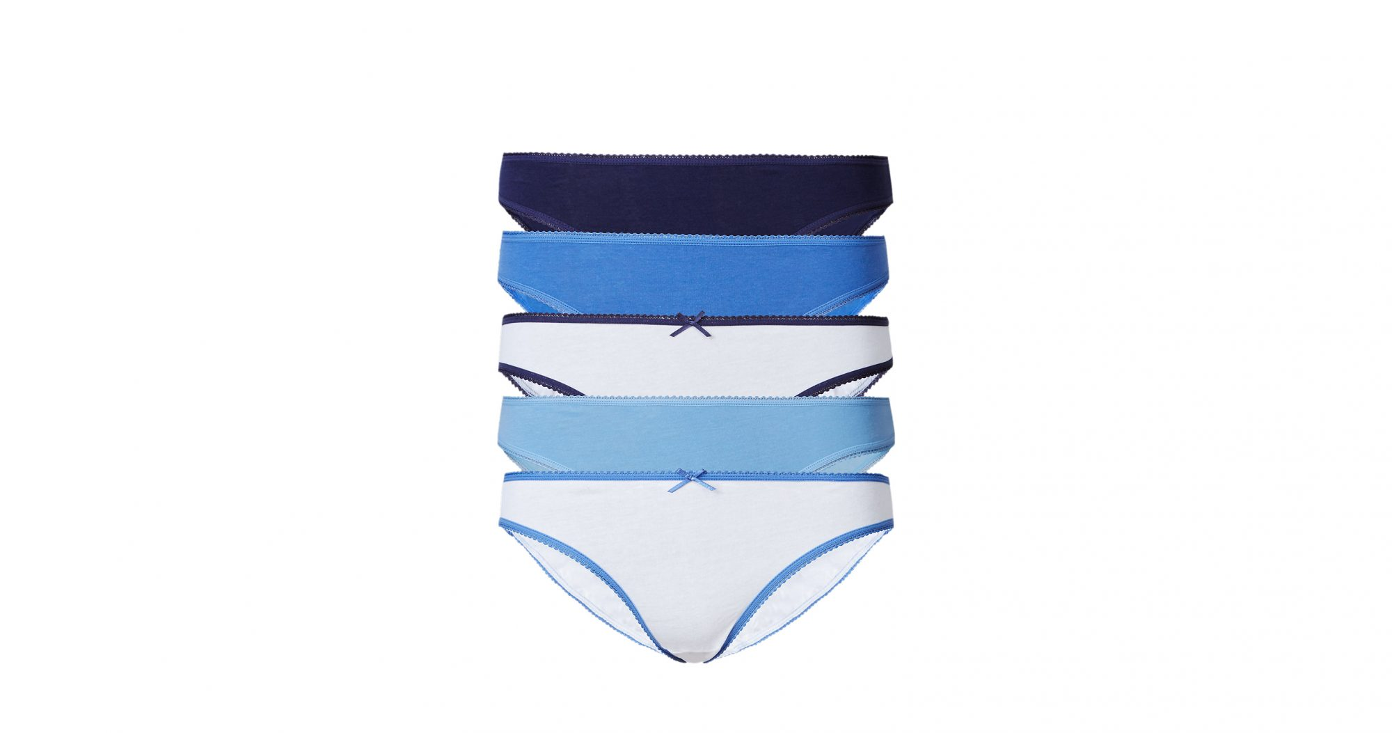Marks & Spencer 5-Pack Pure Cotton Bikini Knickers