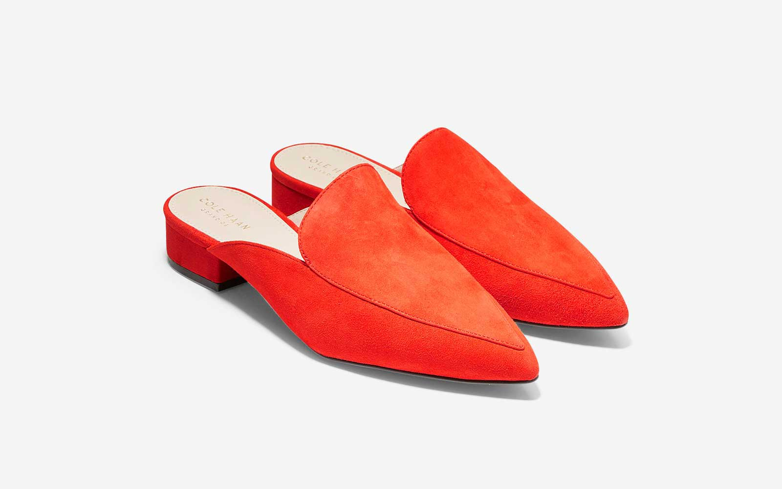 The Pop of Color: 'Piper' Mule