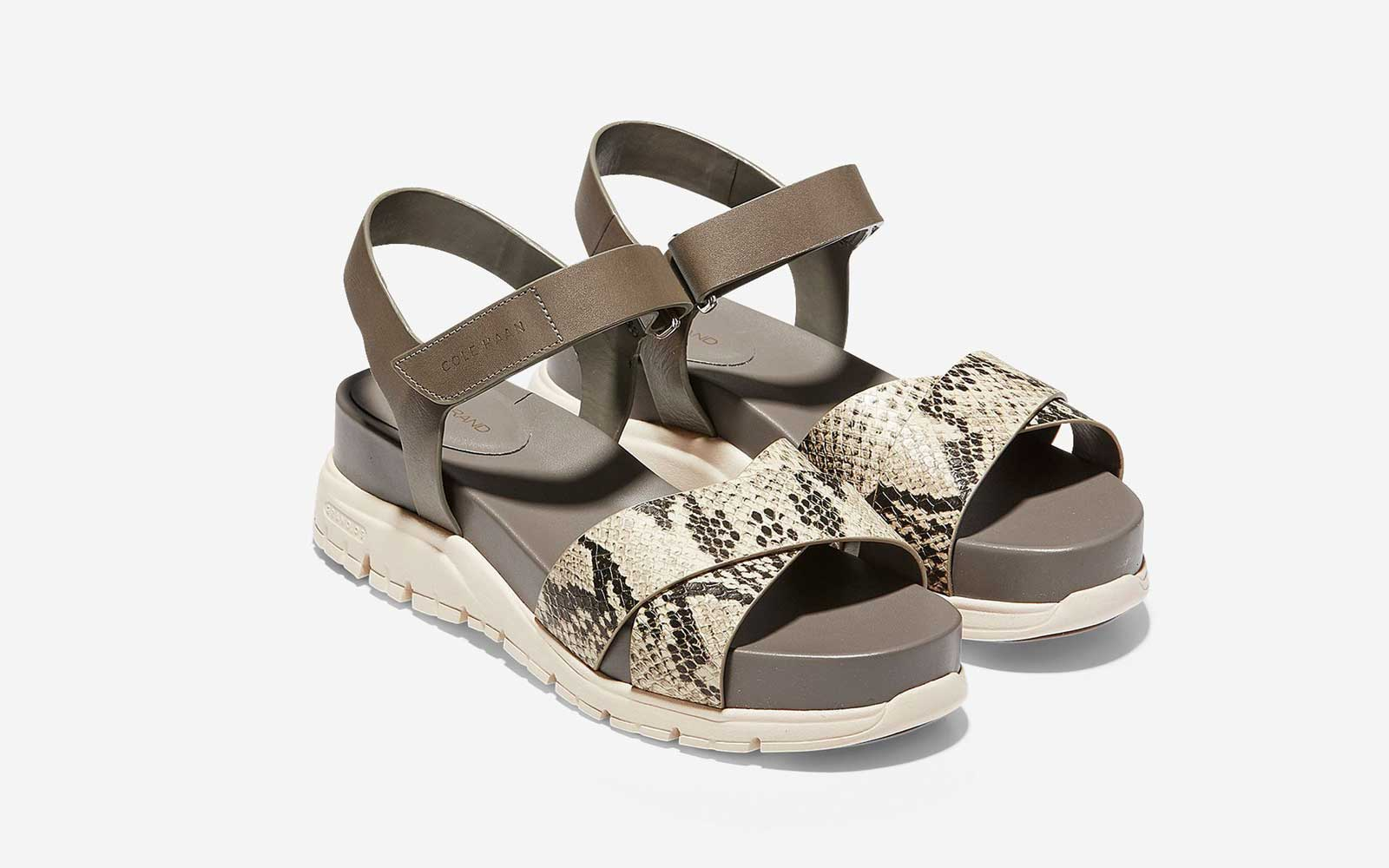 The Cool-girl Comfort Sandal: Zerogrand Criss-cross Sandal