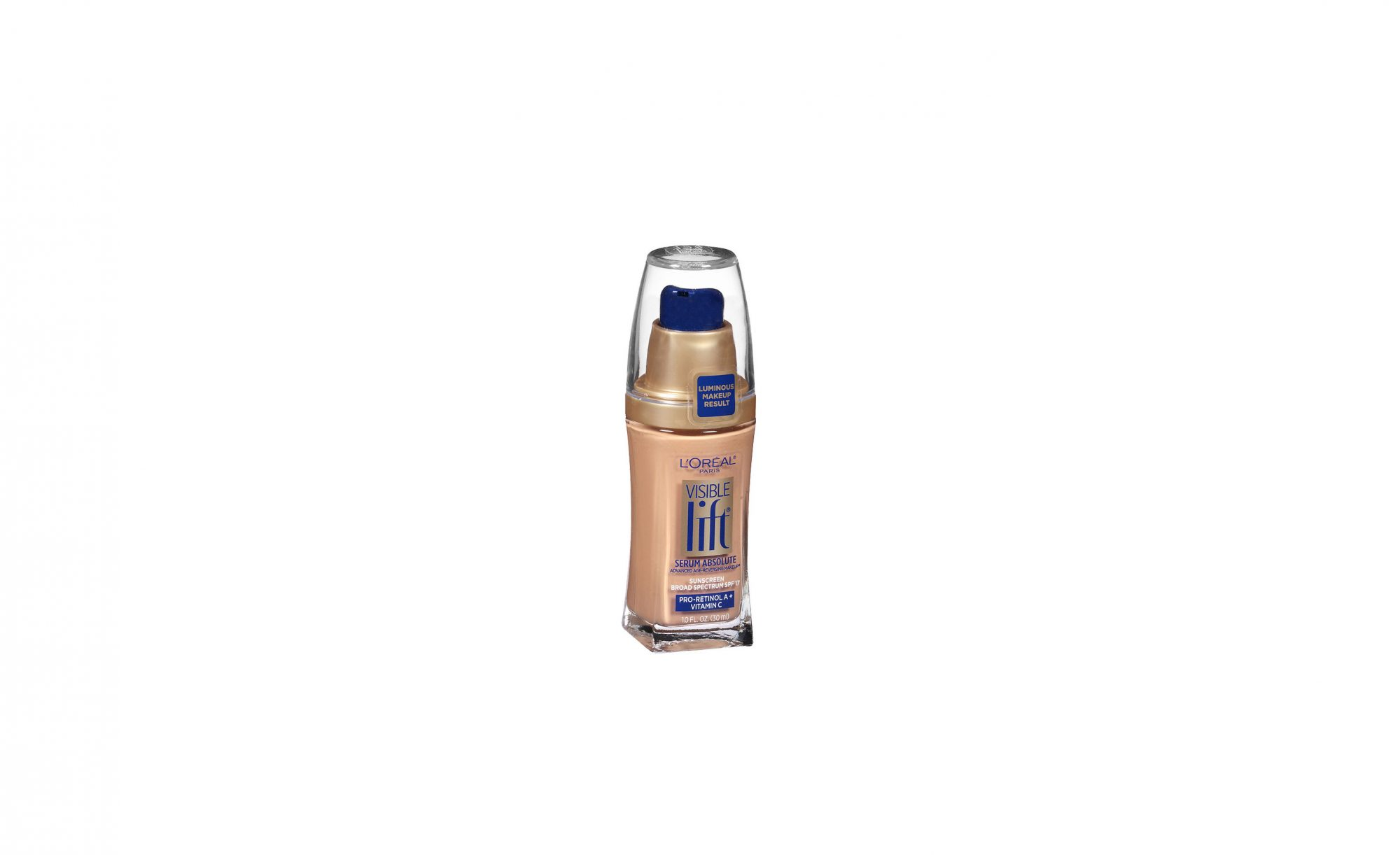 L'Oreal Paris Visible Lift Serum Absolute Advanced Age-Reversing Makeup SPF 17
