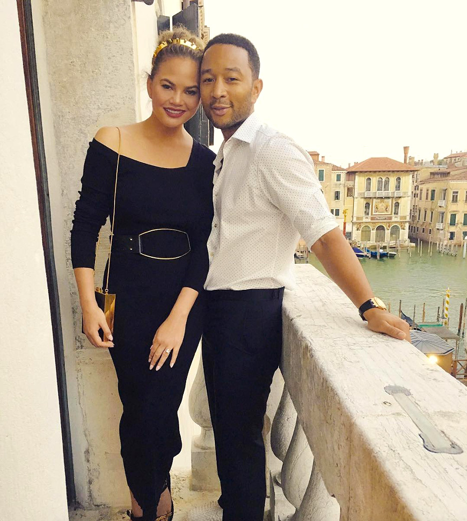 Chrissy Teigen Believes Eating Her Placenta Prevented Postpartum Depression After Second Baby