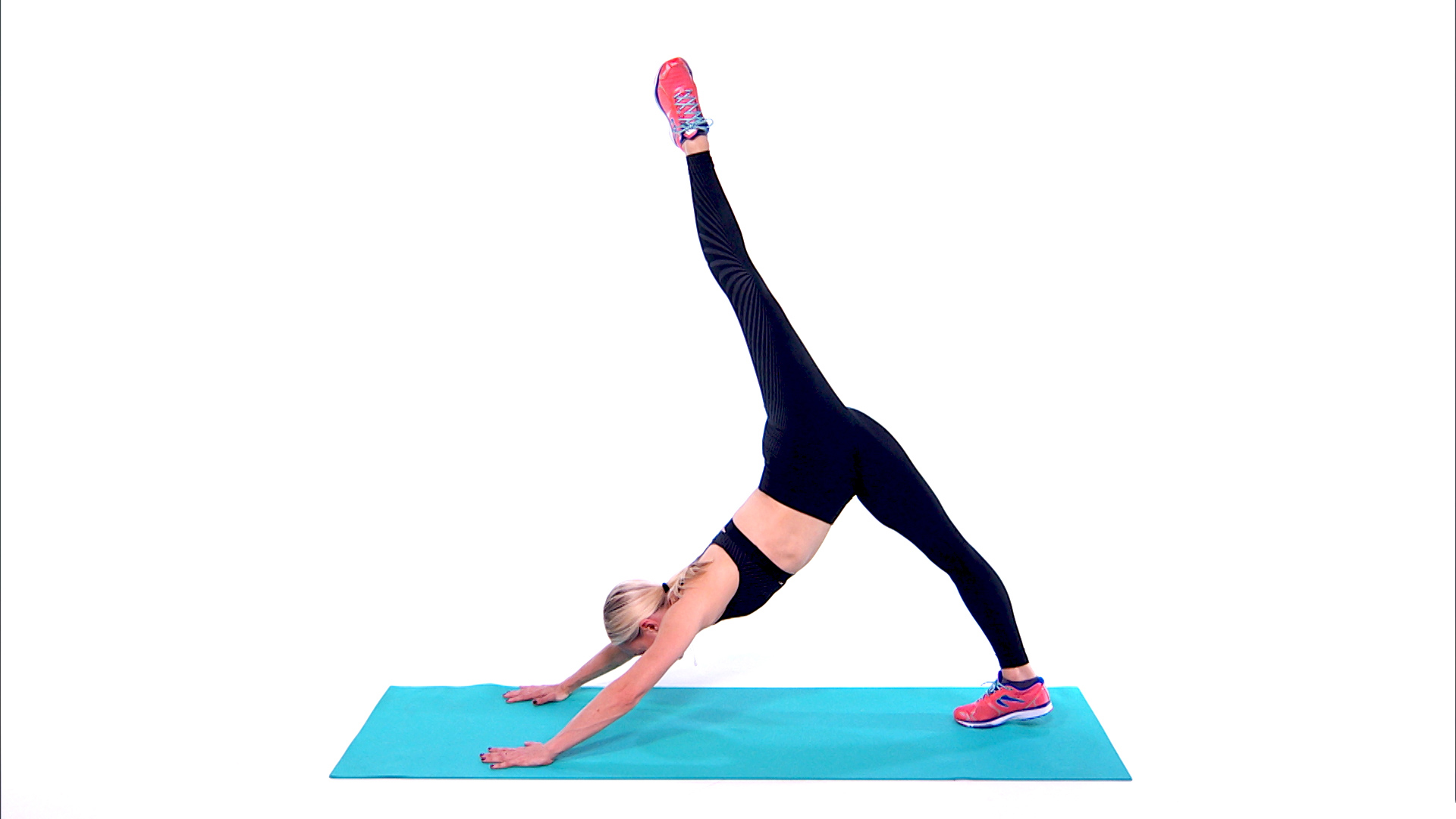 Simone De La Rue Plank Moves-video