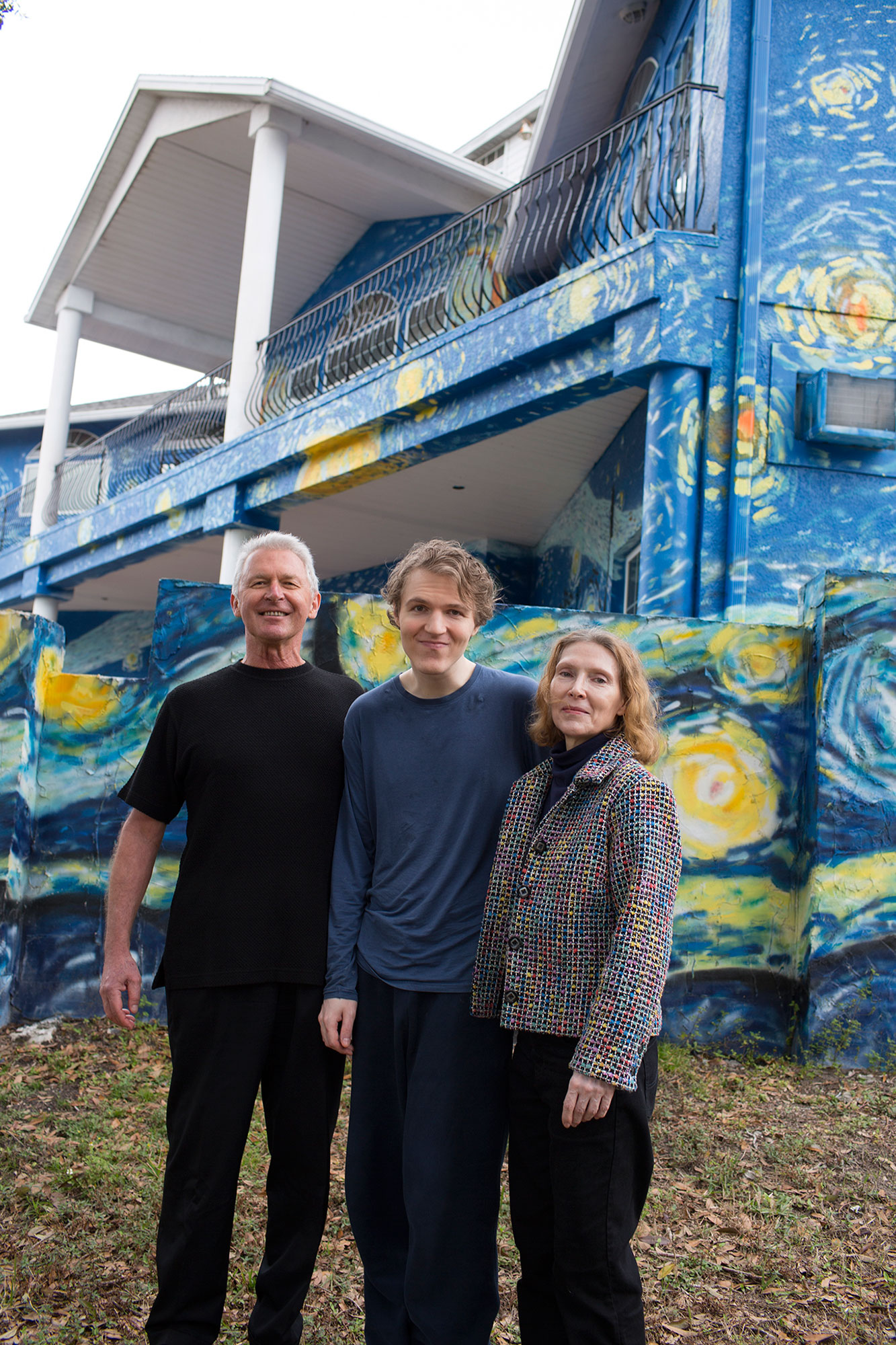 Florida Couple Who Painted Their House as a Beacon for Son with Autism Wins Battle with City