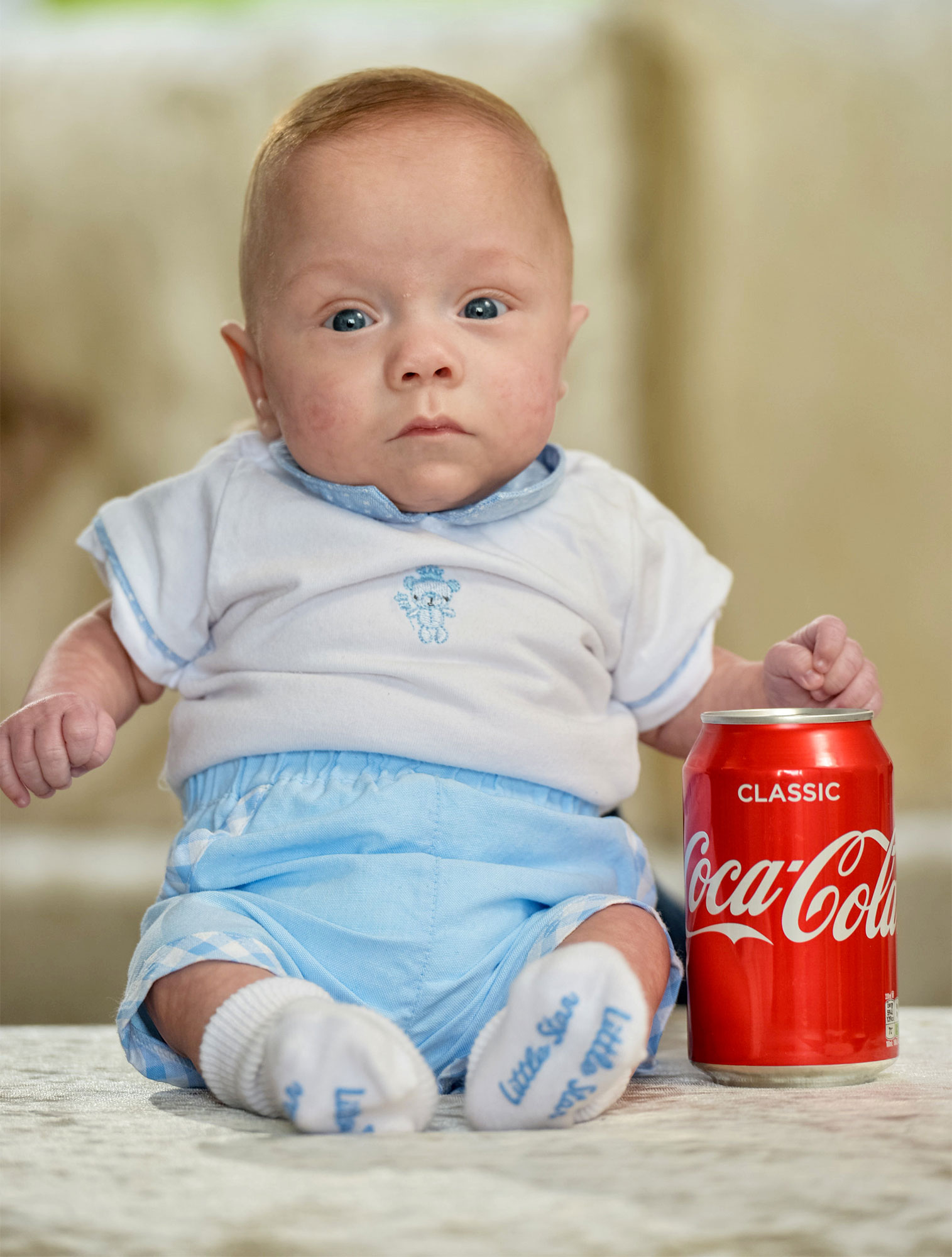 Baby Boy Born the Size of a Coke Can Miraculously Survives and Is 'Doing So Well,' Says Mom