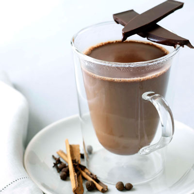 Alcohol-free drink: Spicy Hot Chocolate