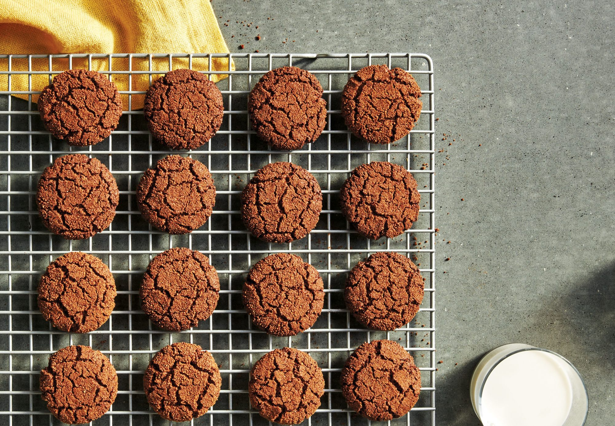 Grain-Free Double-Ginger Gingersnaps