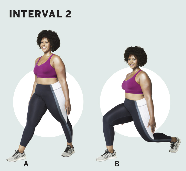 interval-2-lunges