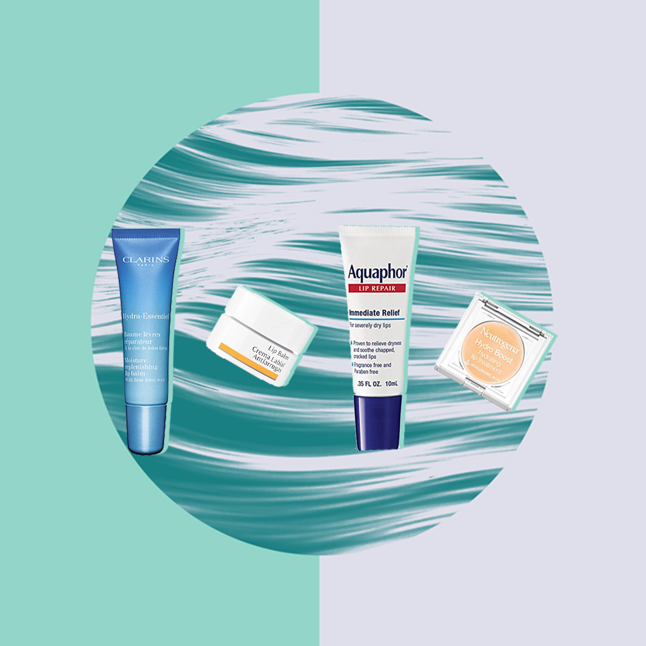 Hydra-Essentiel Moisture Replenishing Lip Balm CLARINS Neutrogena Hydro Boost Lip Treatment   Dr. Hauschka Lip Balm Aquaphor Lip Repair Dry, Chapped Lip Balm product editor health woman moisture cold addiction