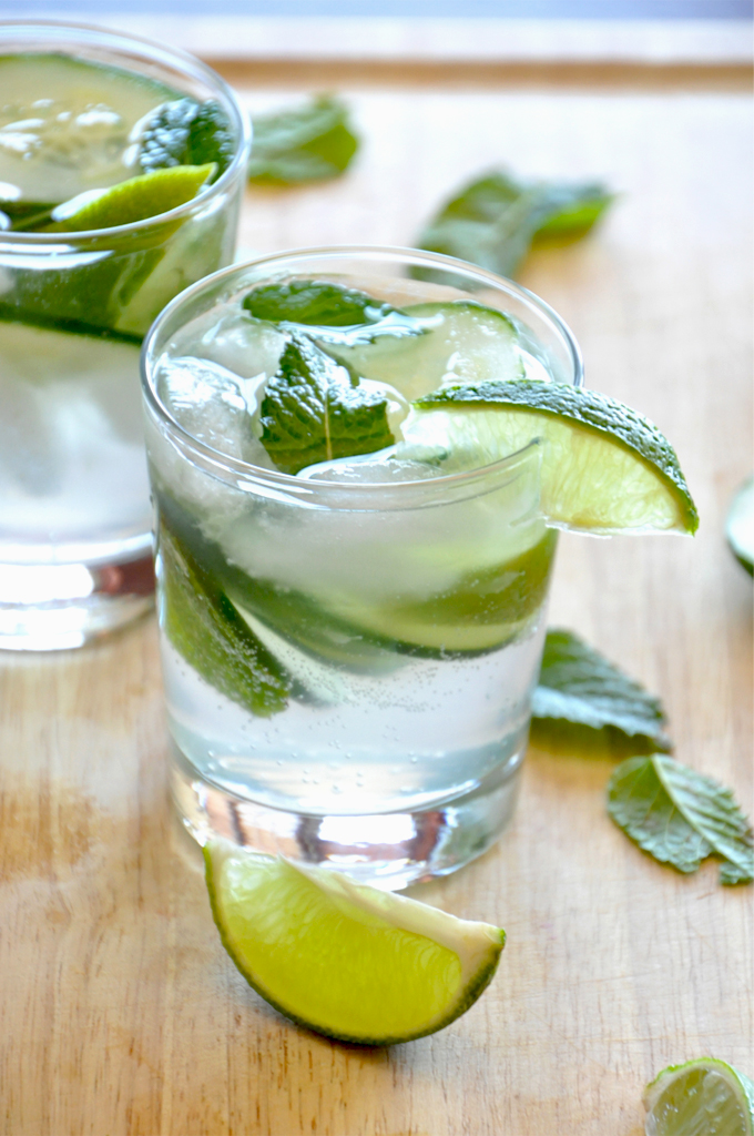 low-cal-cocktails-cucumber-mint
