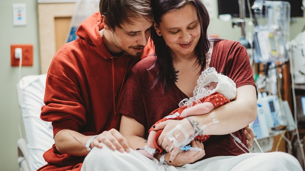 Mom Gives Birth to Baby With Fatal Brain Disorder So She Could Save Other Newborns' Lives