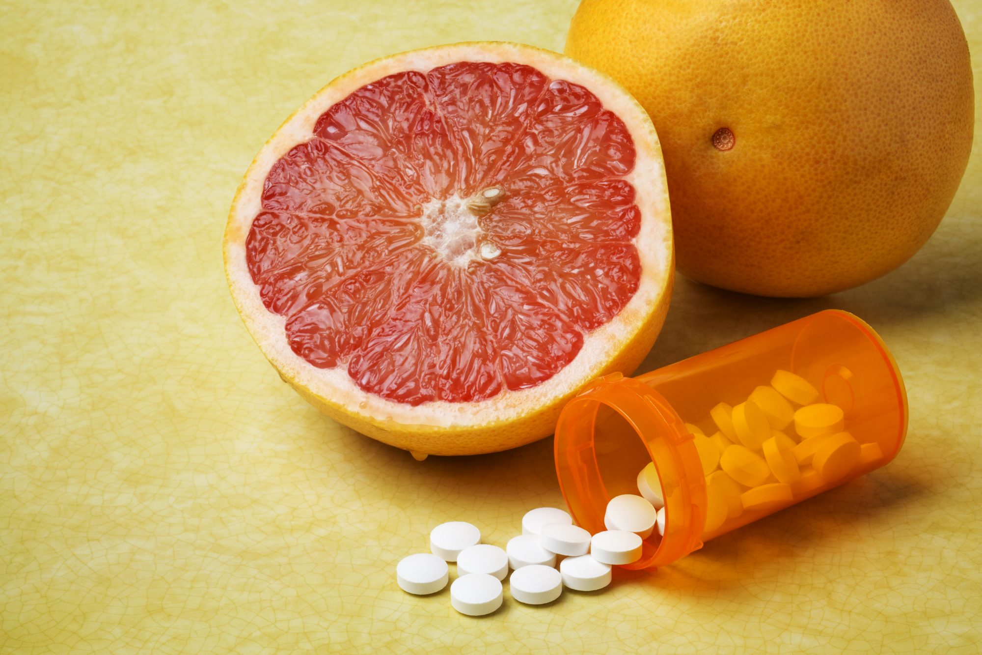 Grapefruit doesn't mix with allergy medications