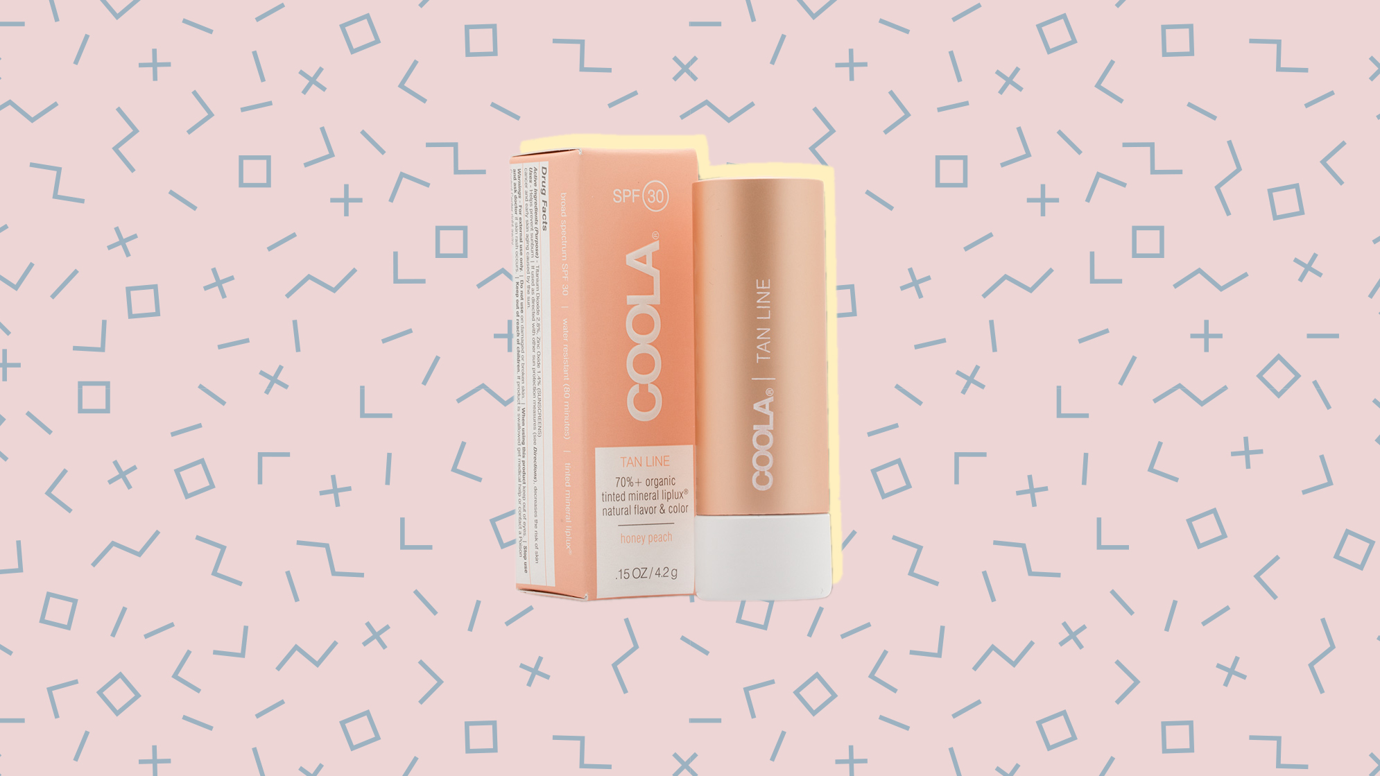 COOLA Mineral Liplux SPF 30 Organic Tinted Lip - Skinny Dip woman lip balm health wellbeing beauty product instagram chrissy-teigen