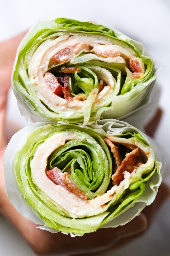 keto-lunch-lettuce-wrap