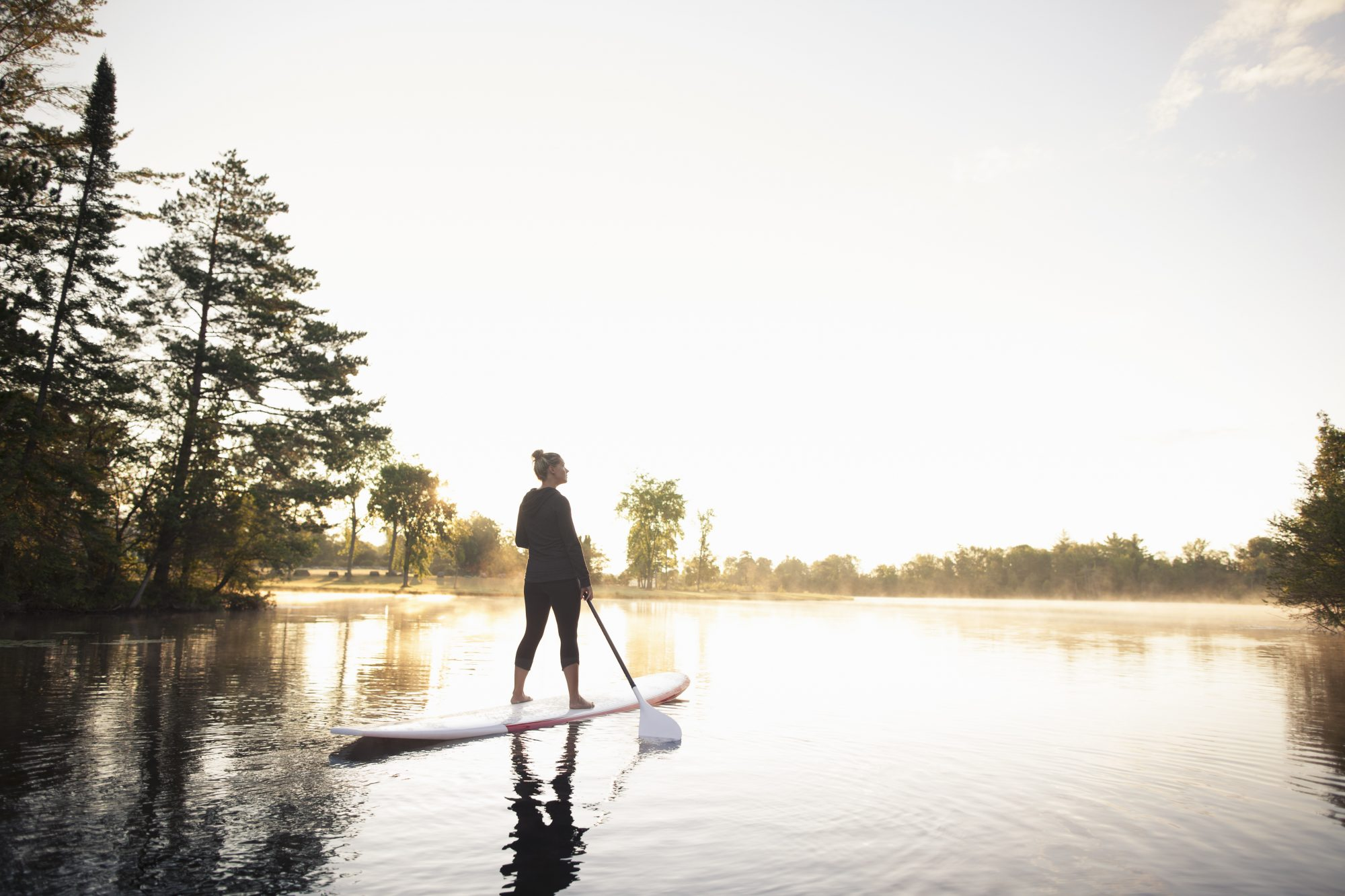 Stand-up paddleboarding (SUP)