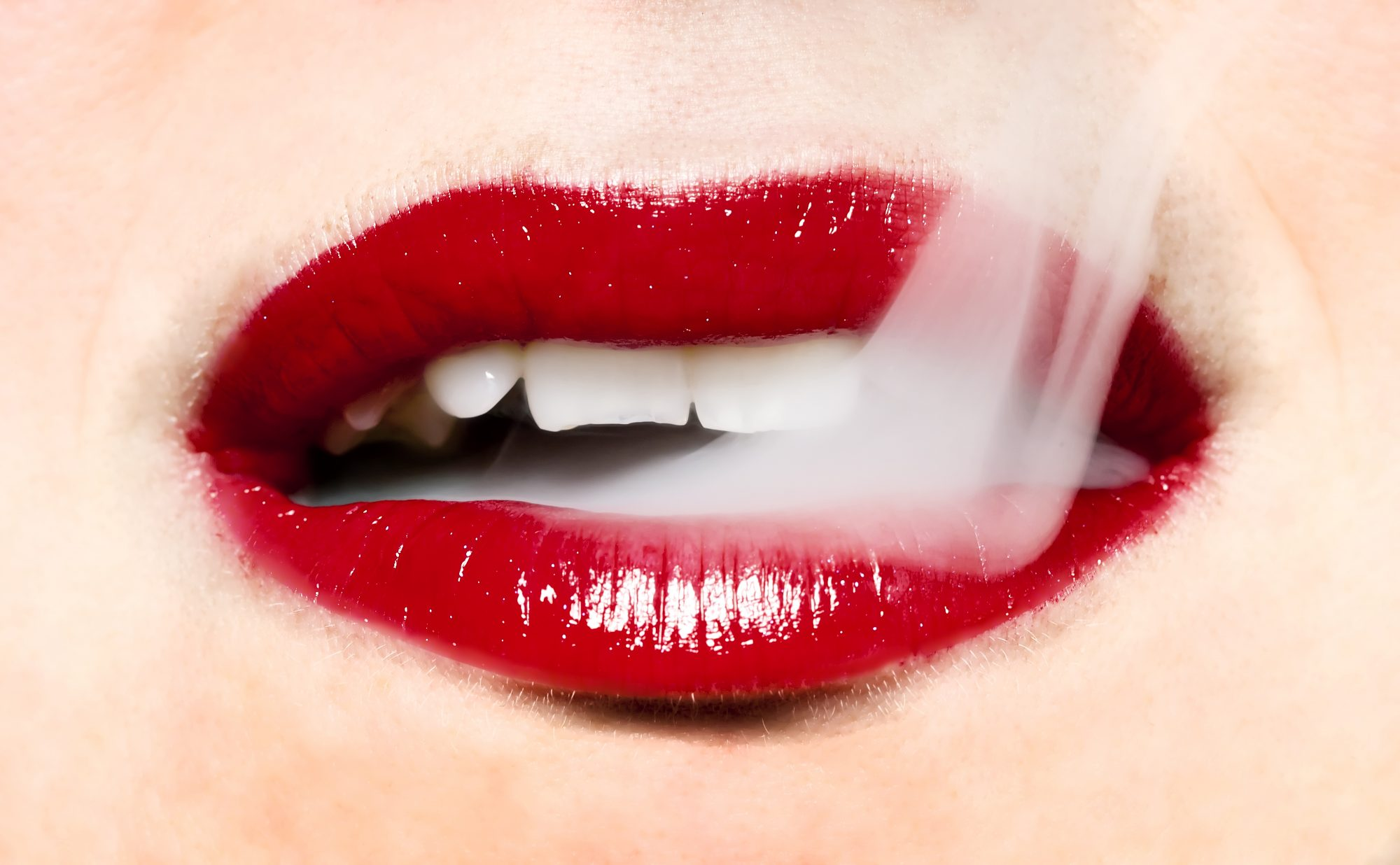 vaping-teeth vaping-mouth woman health smoking vapor vape