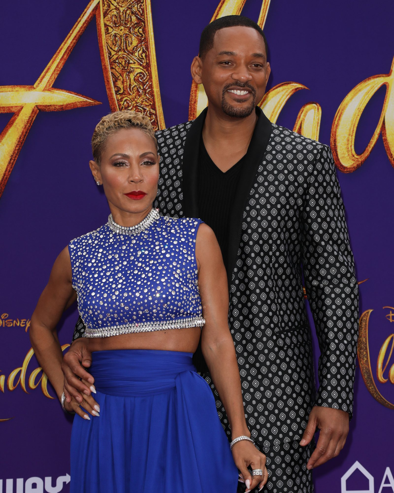 "Will Smith Jada Pinkett Smith Premiere Of Disney's ""Aladdin"" - Arrivals"