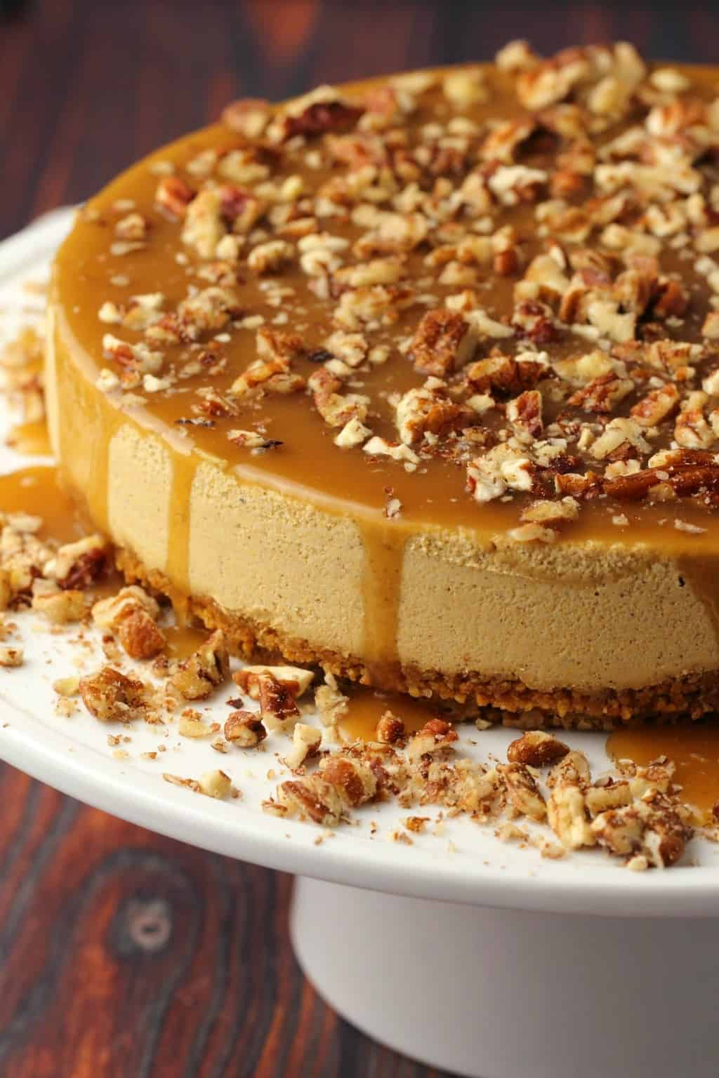 Vegan-Pumpkin-Cheesecake-7