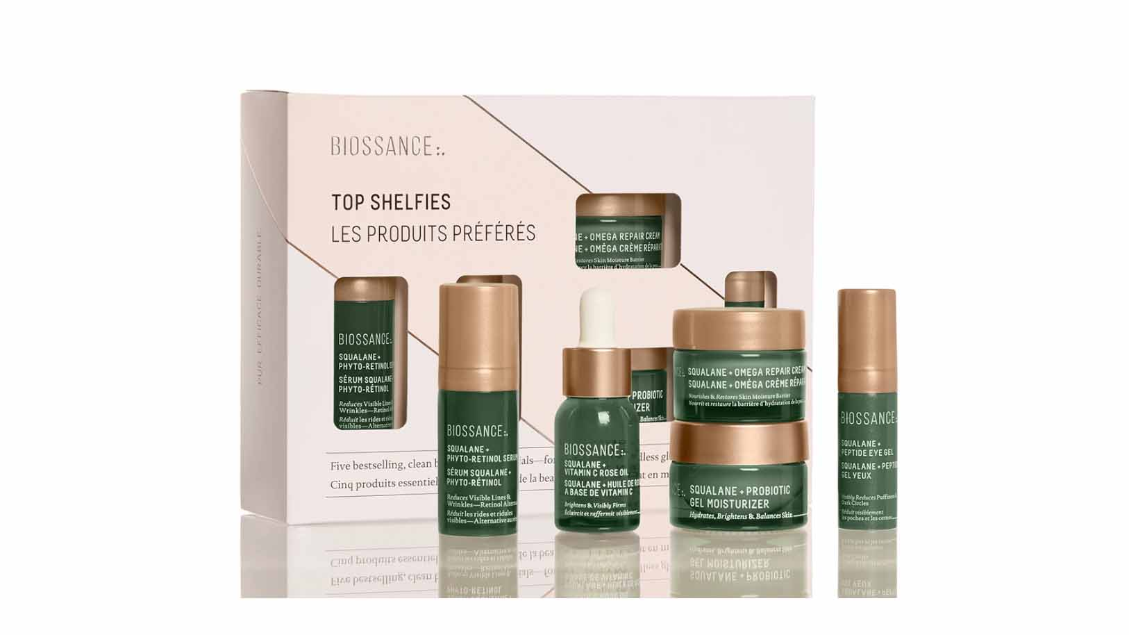 Biossance Top Shelfies Kit