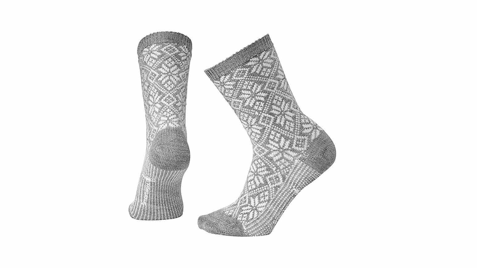 Smartwool Traditional Snowflake Crew Socks