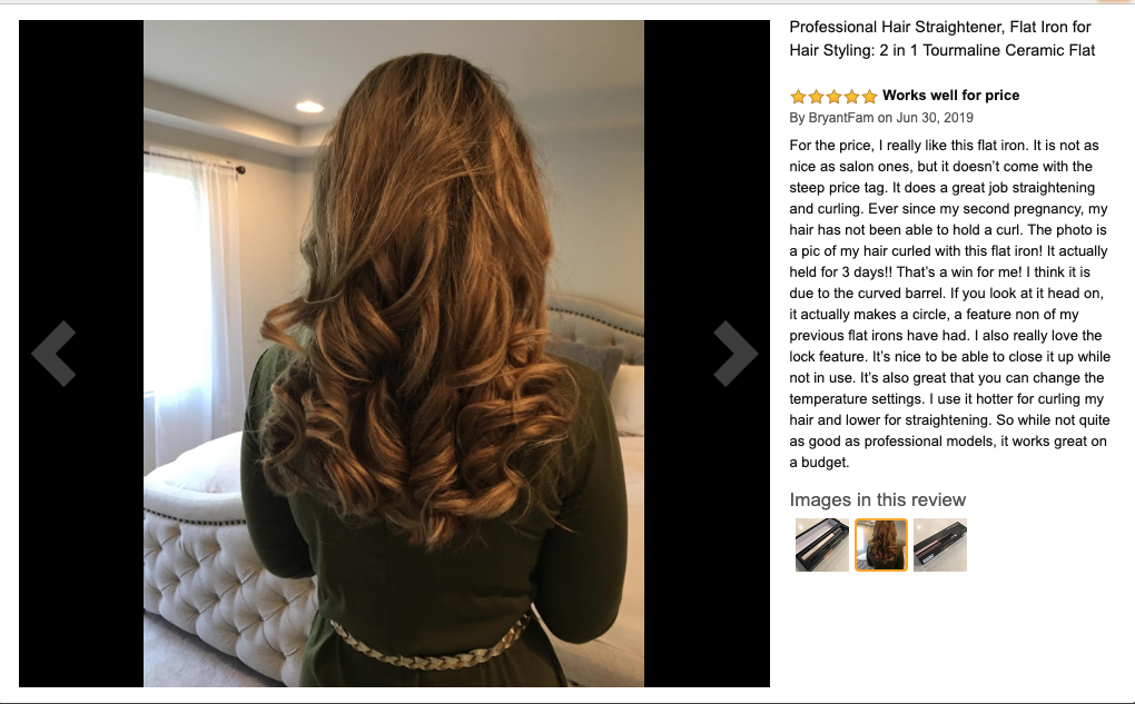 long brown hair with curls