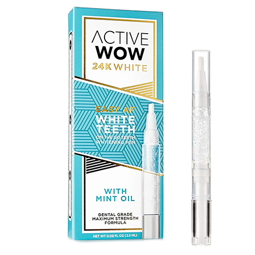 Active Wow 24K White Teeth Whitening Pen
