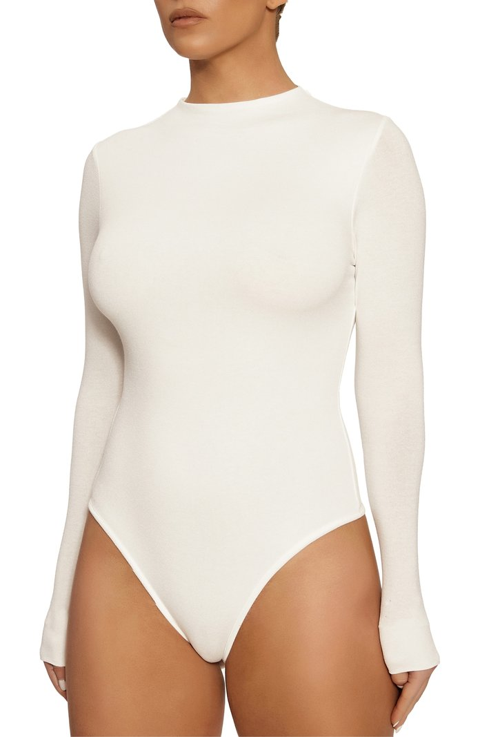 Naked Wardrobe The NW Thong Bodysuit