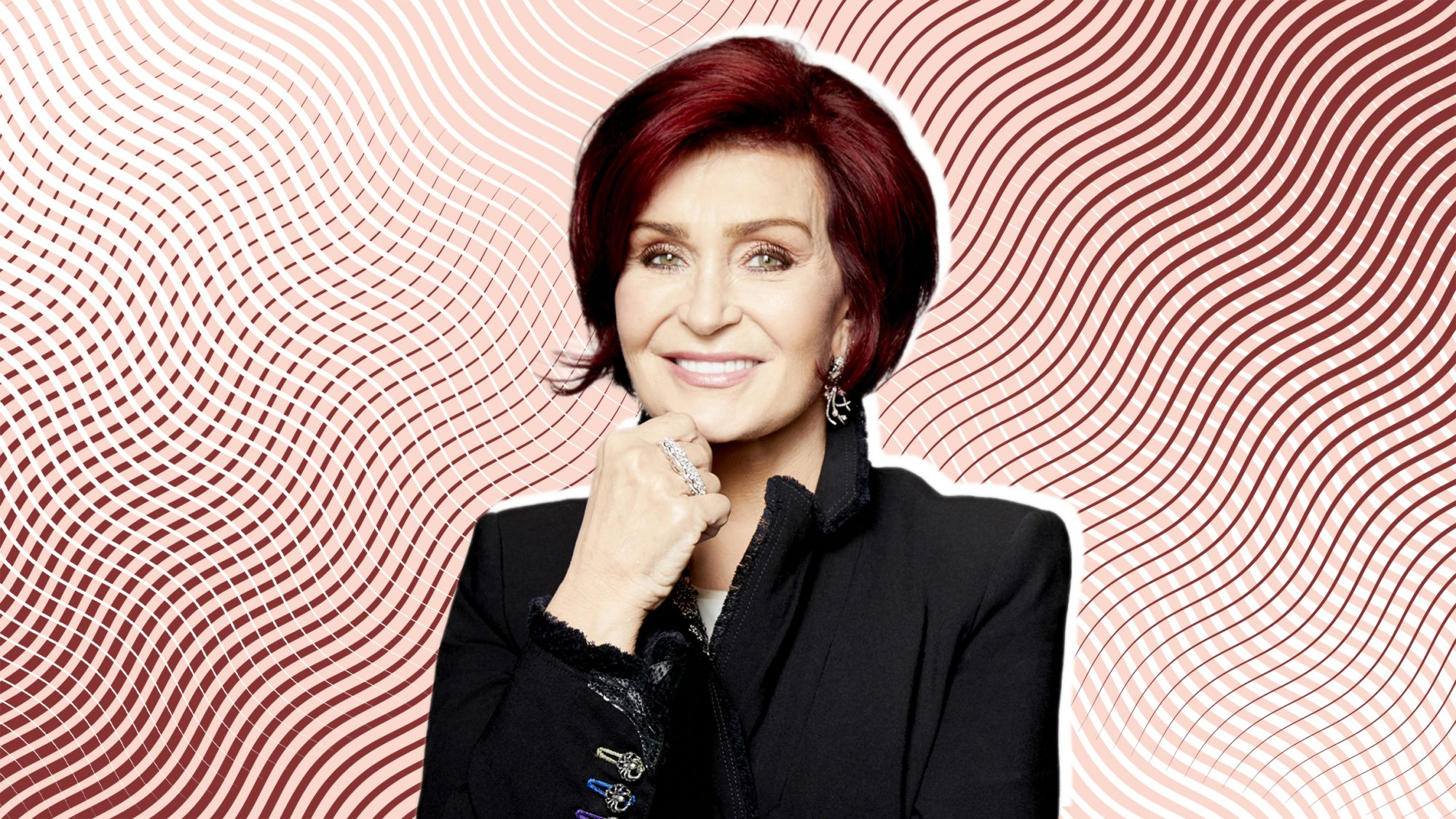 LOS ANGELES - JUNE 19: Sharon Osbourne, host of the CBS series THE TALK, airing Weekdays 2:00-3:00 PM, ET; 1:00-2:00 PM, PT on the CBS Television Network. (Photo by Art Streiber/CBS via Getty Images)
