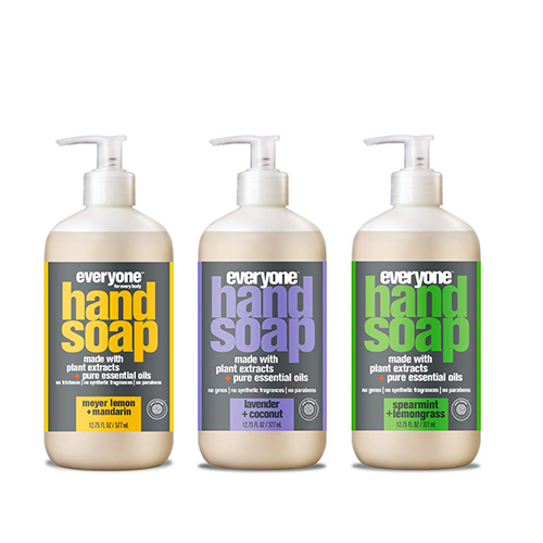 Everyone Hand Soap Variety Pack, Meyer Lemon