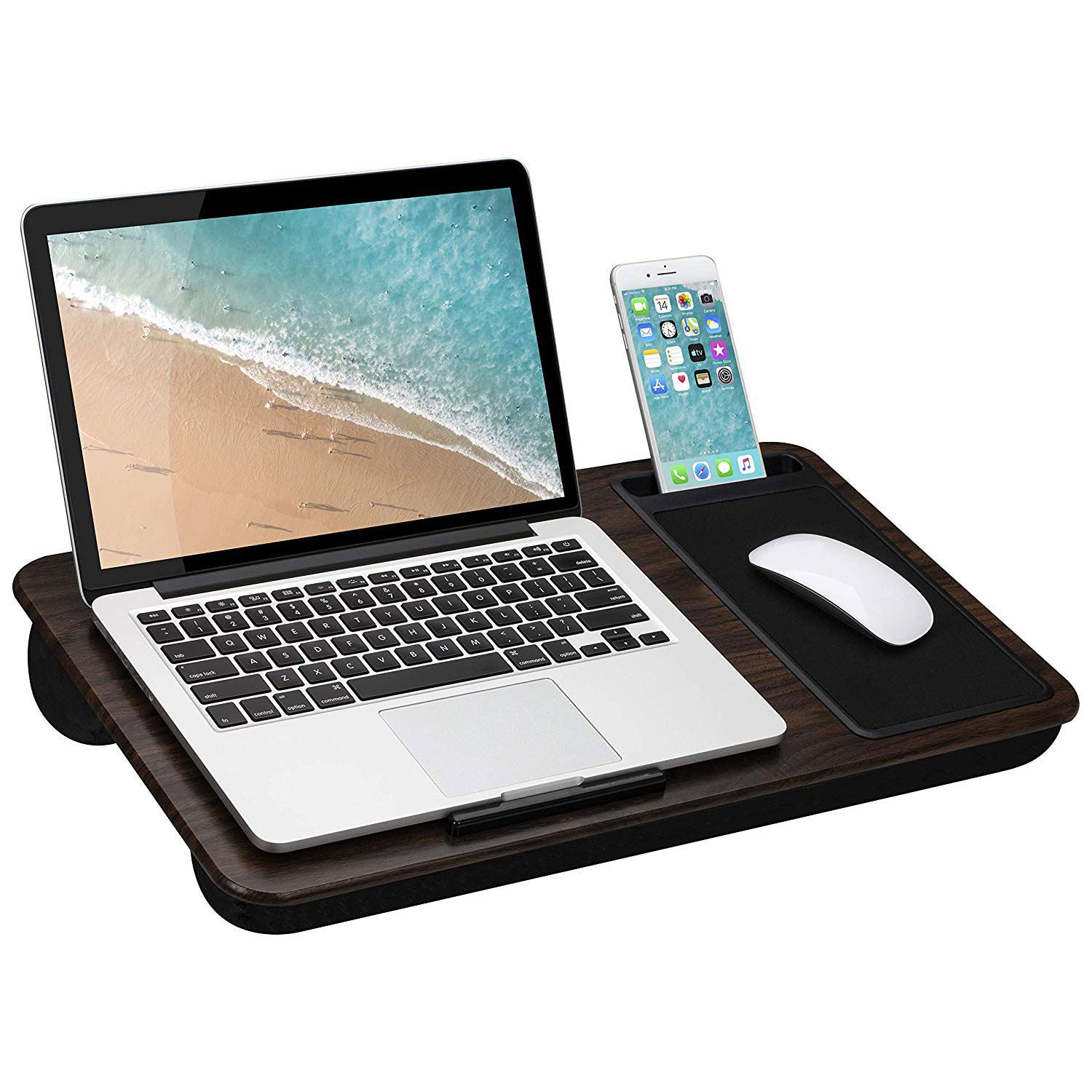 LapGear Home Office Lap Desk with Device Ledge