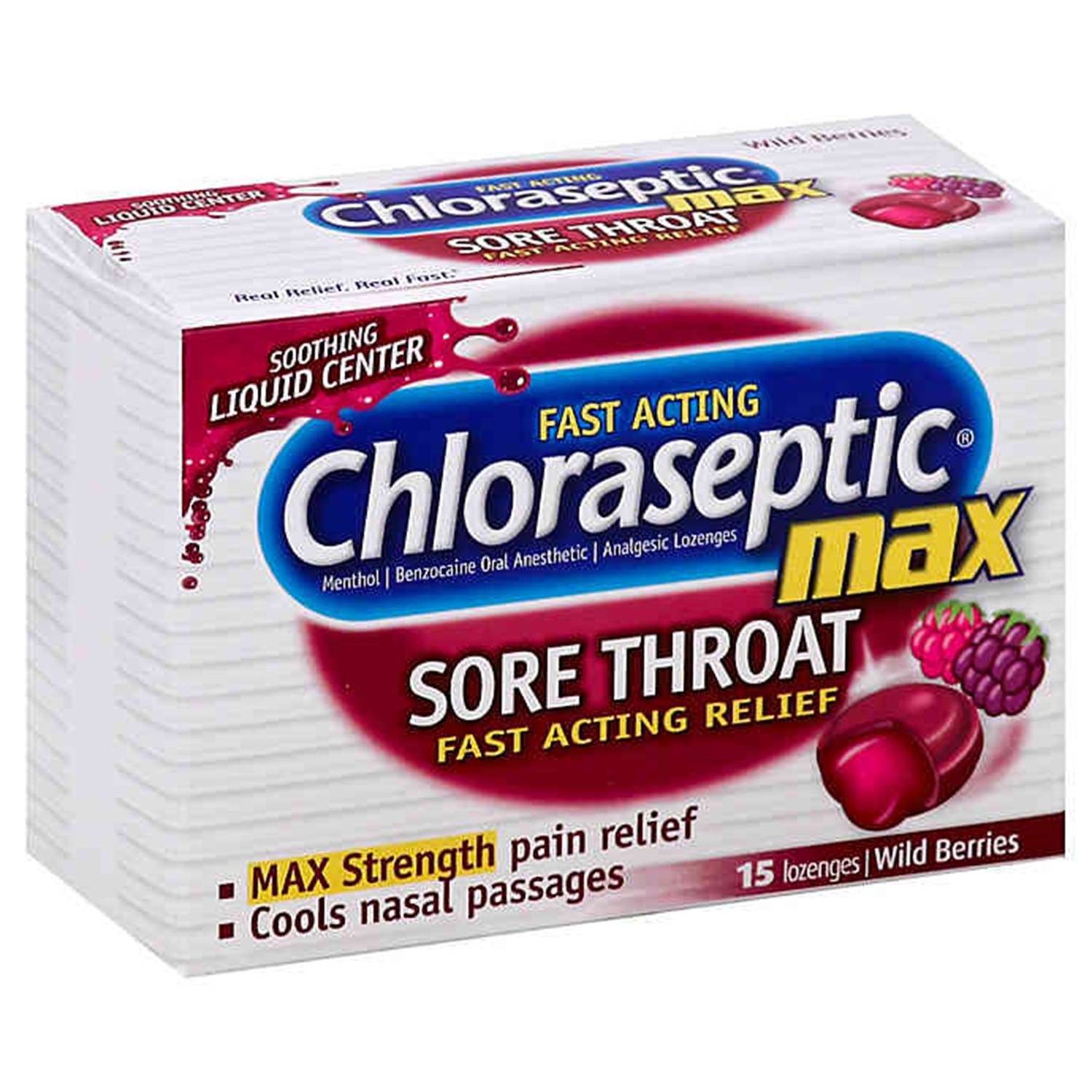 Chloraseptic cough drops