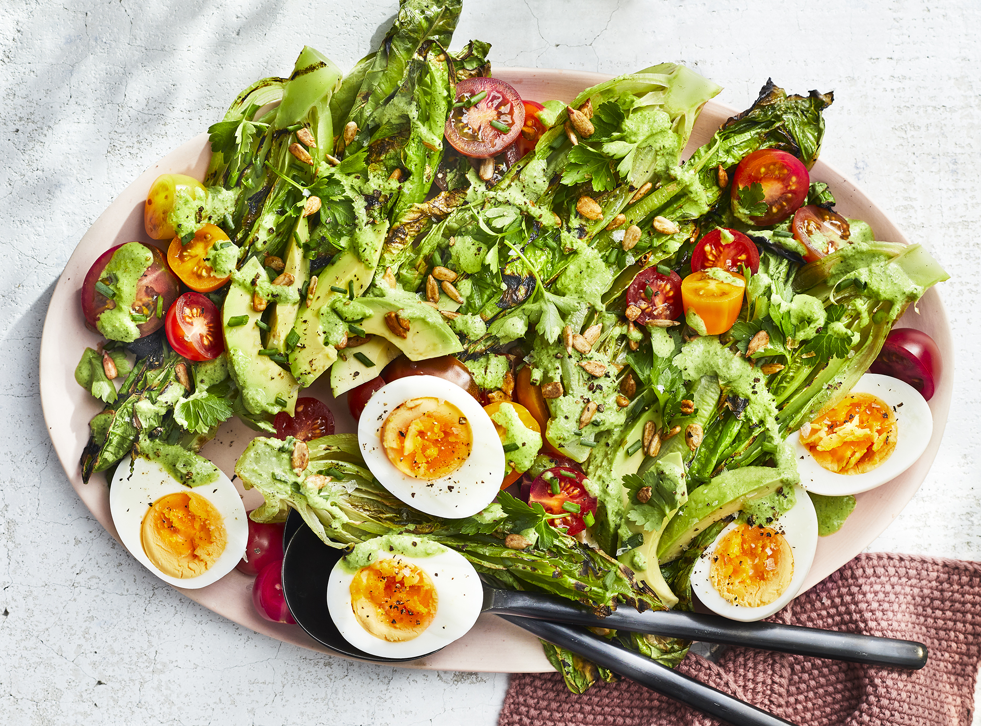 romaine-salad-grilled-recipes-health-mag-june-2020