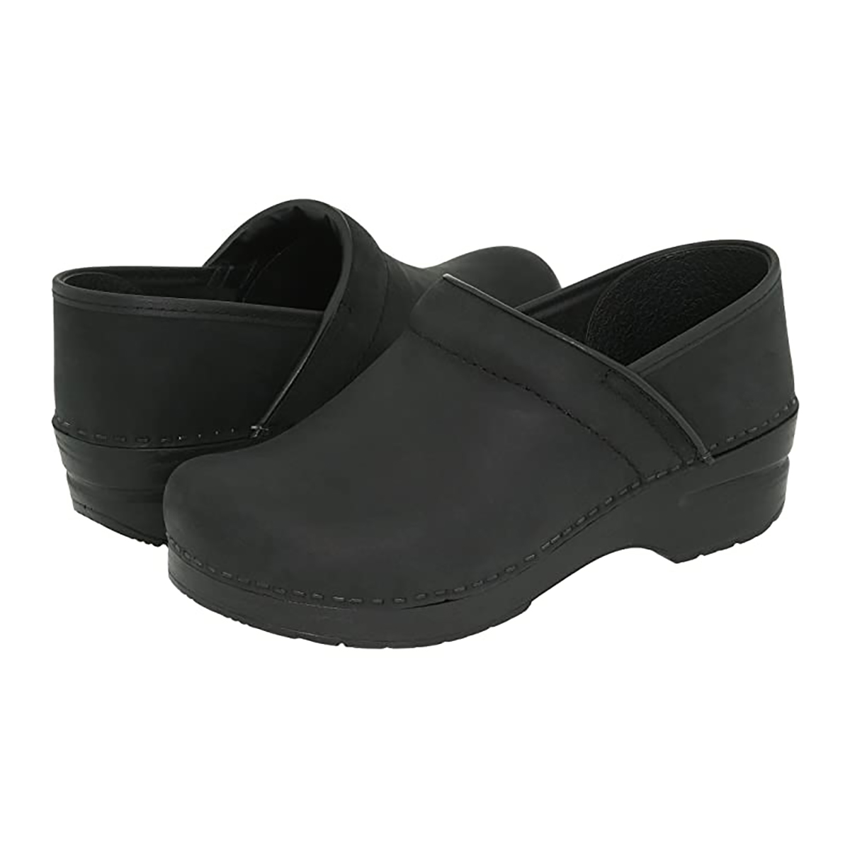 dansko professional clog with heel and arch support