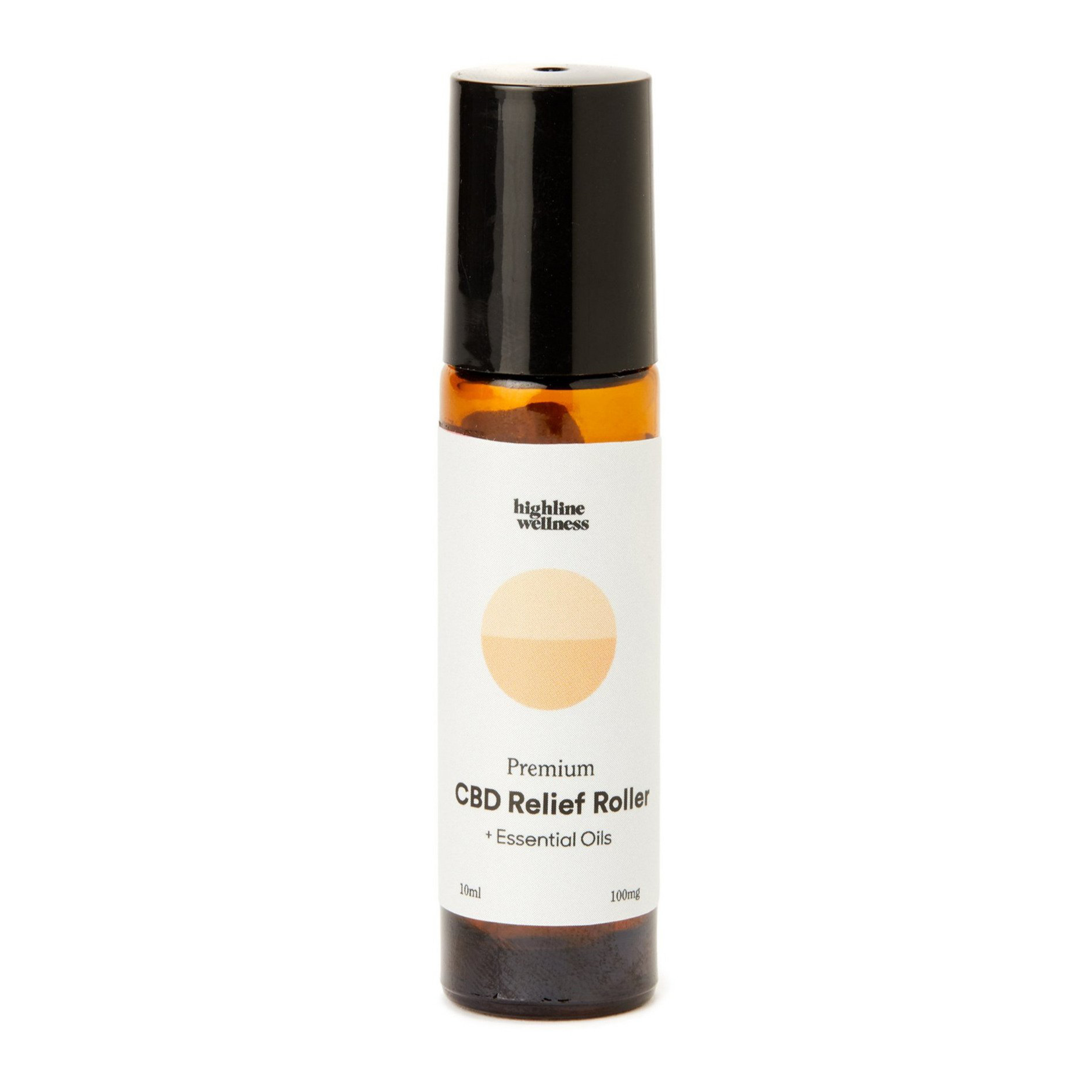 highline wellness cbd relief roller with essential oils