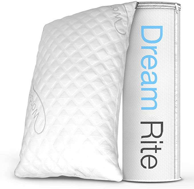 wondersleep dream rite pillow next to box