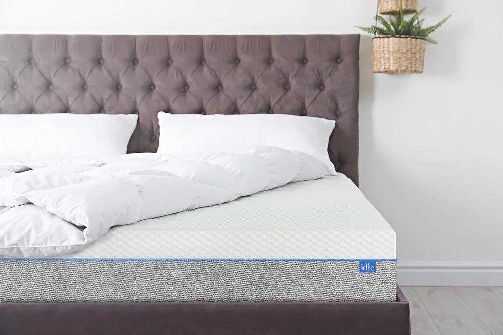 Purple Trim Pillow Top Mattress